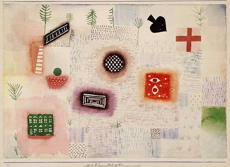 Paul Klee - Zeichen am Weg - 1926