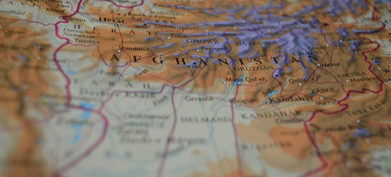 Landkarte Afghanistan