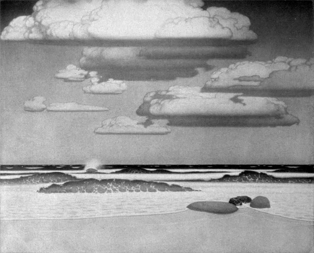 Oskar Zwintscher - Offenes Meer - 1915